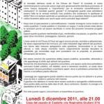 Lun 5 dicembre - assemblea di quartiere