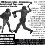 Venerdì 20 luglio. G8 Genova 2001 non è finita, quarto appuntamento