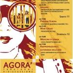 10-11-12 maggio, tre giorni di discussione alla facoltà di Agraria: #Agorà2013
