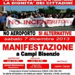 no inceneritore nella Piana: Sab 7 dic ore 14.30 manifestazione